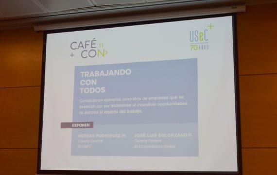 """Café con…""""Trabajando con todos"""" con Hernán Rodríguez y José Luis Solorzano"""
