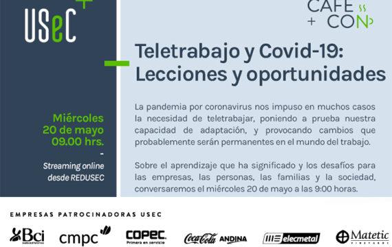 """Café Con """"Teletrabajo y COVID-19: Lecciones y Oportunidades"""""""
