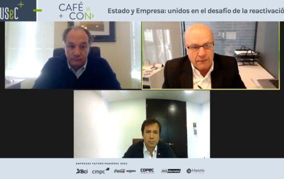 """Café Con """"Estado y Empresa: unidos en el desafío de la reactivación"""""""