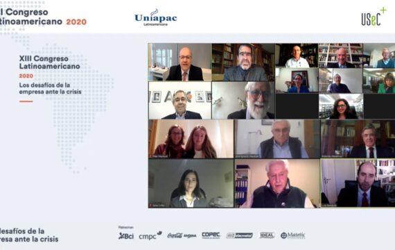 """XIII Congreso Latinoamericano UNIAPAC-USEC """"Los desafíos de la empresa ante la crisis""""."""