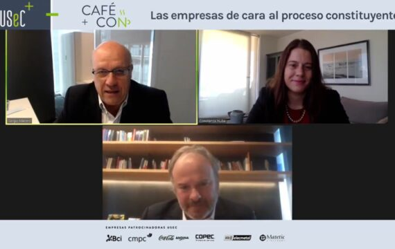 """Café Con """"Las empresas de cara al proceso constituyente"""""""