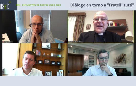 """Encuentro Anual de Socios 2020 """"Diálogo en torno a Fratelli Tutti"""""""