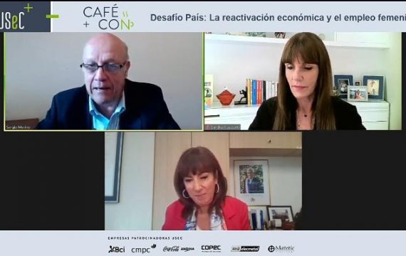 """Café Con """"Desafío país: La reactivación económica y el empleo femenino"""""""