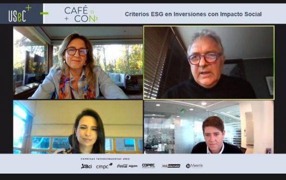 """Café Con N°3 2021: """"Criterios ESG en inversiones con impacto social"""""""