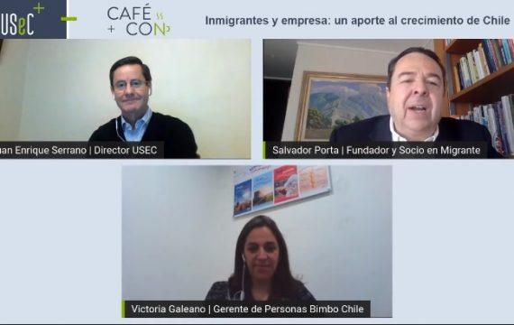 """Café Con N°4 2021: """"Inmigrantes y empresa: un aporte al crecimiento de Chile"""""""